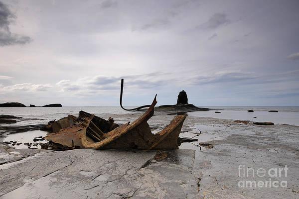 Ship Wreck Photograph - Admiral Von Tromp by Smart Aviation