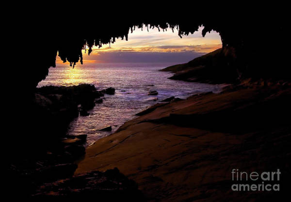 Wall Art - Photograph - Admiral's  Arch Sunset by Mike Dawson