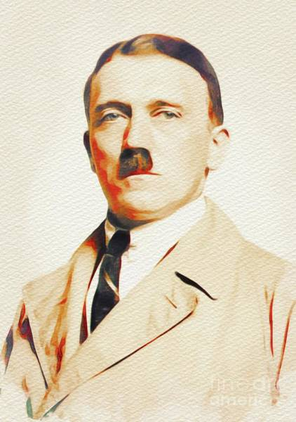 Adolf Hitler, Leaders Of World War Two Art Print