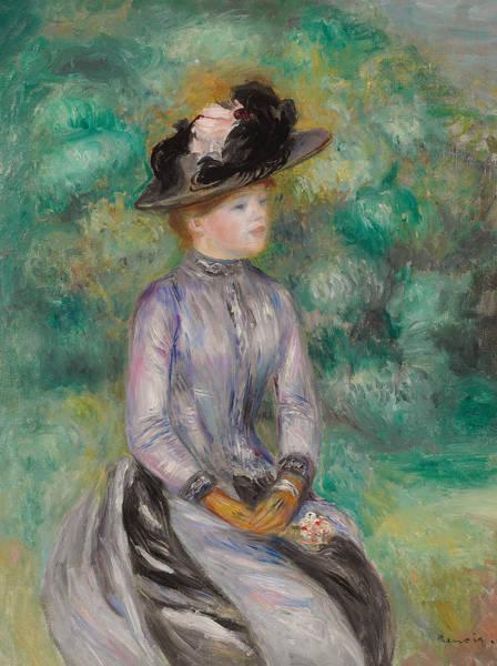 Wall Art - Painting - Adrienne by Pierre Auguste Renoir