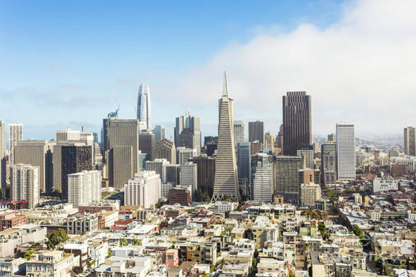 Photograph - Aerial View Of San Francisco, Usa by Didier Marti