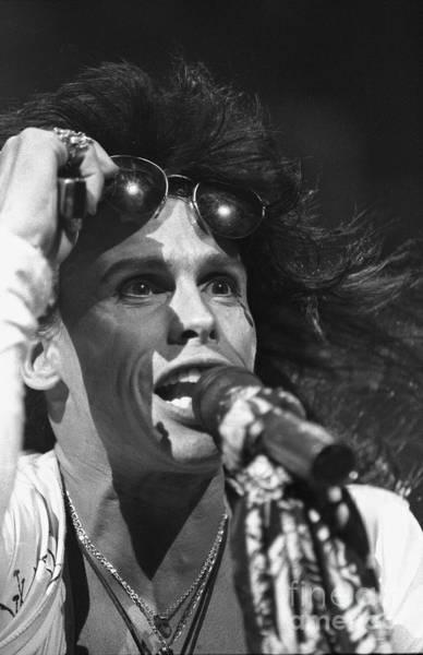 Steven Tyler Photograph - Aerosmith Steven Tyler by Concert Photos