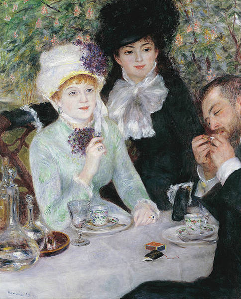 Painting - After The Luncheon by Pierre-Auguste Renoir