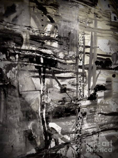 Destructive Painting - After The Storm by Nancy Kane Chapman