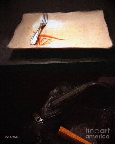 Painting - After Work by RC DeWinter