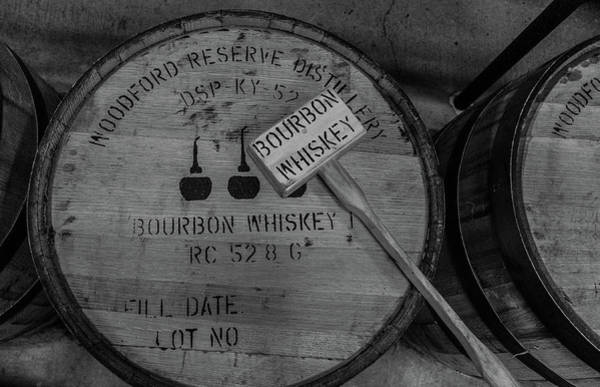 9797d8045e33 Bourbon Barrel Wall Art - Photograph - Aging Woodford Reserve Bourbon  Whiskey Barrel  2 by