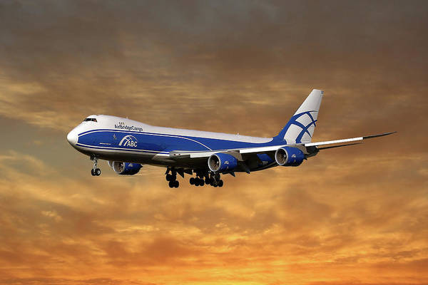 Boeing 747 Wall Art - Photograph - Air Bridge Cargo Boeing 747-8f by Smart Aviation