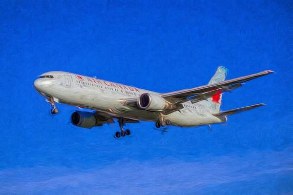 Wall Art - Photograph - Air Canada Boeing 767 Art by David Pyatt
