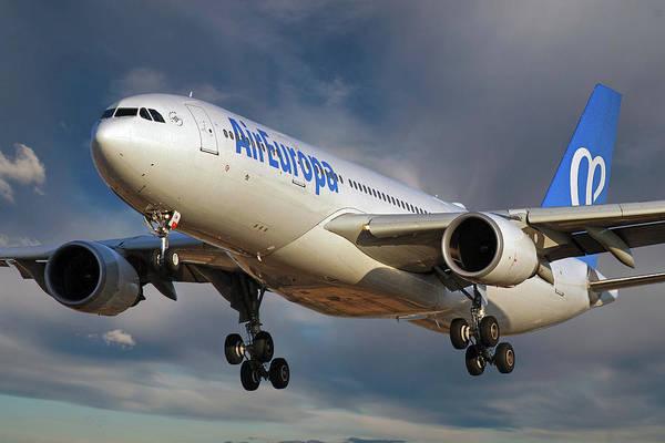 Wall Art - Photograph - Air Europa Airbus A330-202 by Smart Aviation