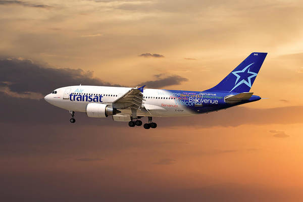 Wall Art - Photograph - Air Transat by Smart Aviation