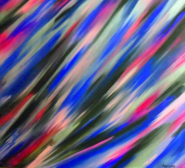Painting - Airbourne by Cyryn Fyrcyd