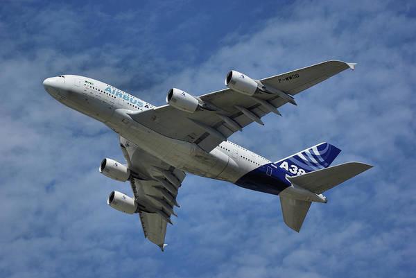 Airbus A380 Wall Art - Photograph - Airbus A380 by Tim Beach