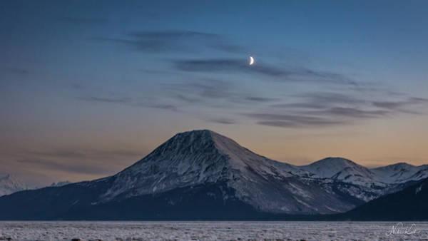 Photograph - Alaska Sunset by Framing Places