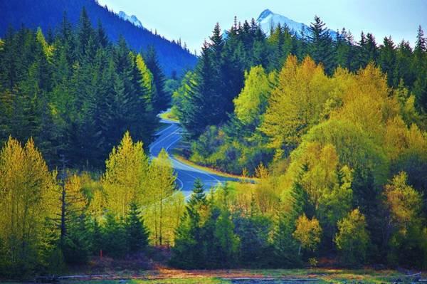 Photograph - Alaskan Highway by Helen Carson