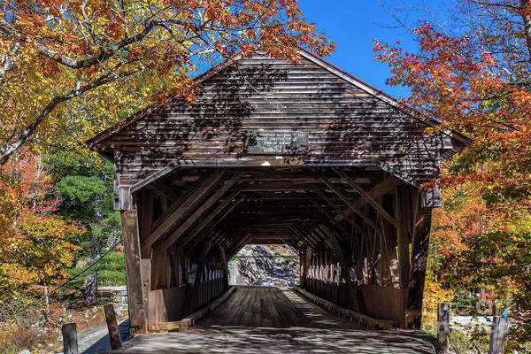 Wall Art - Photograph - Albany Covered Bridge by John Greim