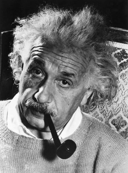 Photograph - Albert Einstein (1879-1955) by Granger