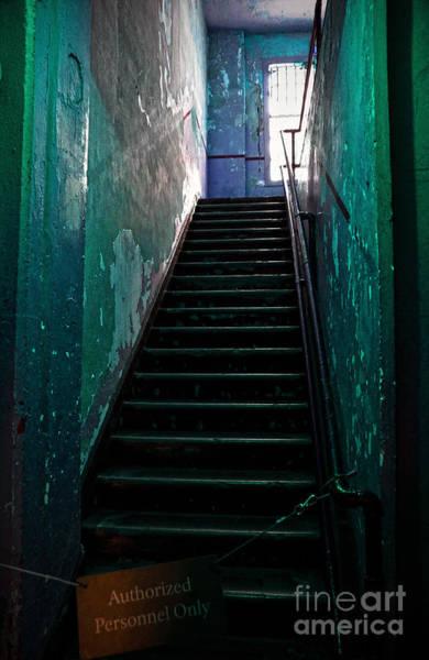 Photograph - Alcatraz Hospital Stairs by RicardMN Photography