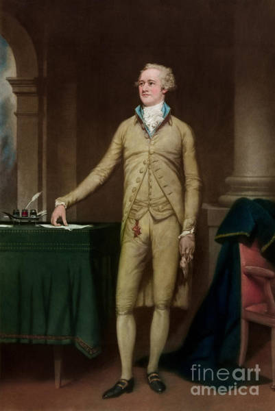 Wall Art - Painting - Alexander Hamilton by American School