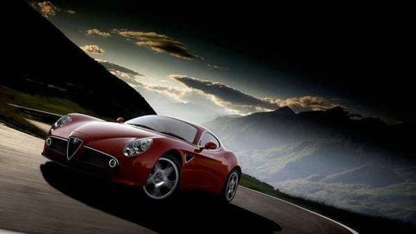 Alfa Romeo Photograph - Alfa Romeo 8c Competizione by Mariel Mcmeeking