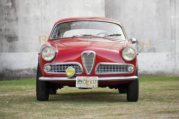 Alfa Romeo Photograph - Alfa Romeo Giulietta Sprint by Jackie Russo