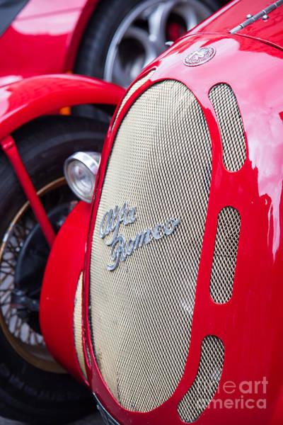 Photograph - Alfa Romeo Racer by Colin Rayner