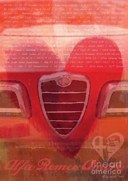 Photograph - Alfa Romeo Valentine by Rick Andreoli
