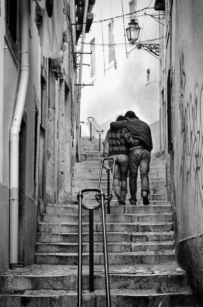 Wall Art - Photograph - Alfama Street by Carlos Caetano