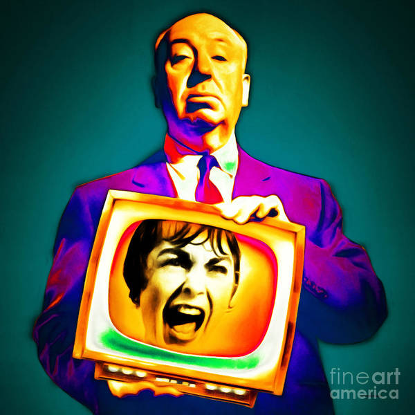 Photograph - Alfred Hitchcock Psycho 20151218v3 Square by Wingsdomain Art and Photography