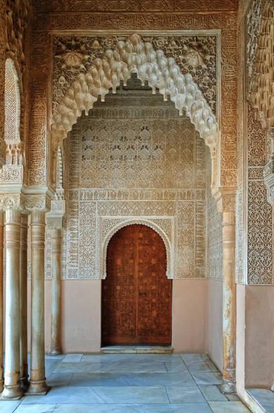 Photograph - Alhambra Door by Adam Rainoff