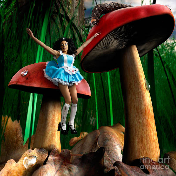 Alice In Wonderland Photograph - Alice In Wonderland by Maxim Images Prints