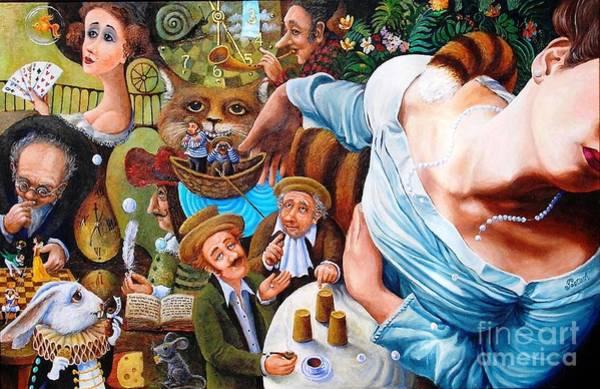 Painting - Alice Wake Up by Igor Postash