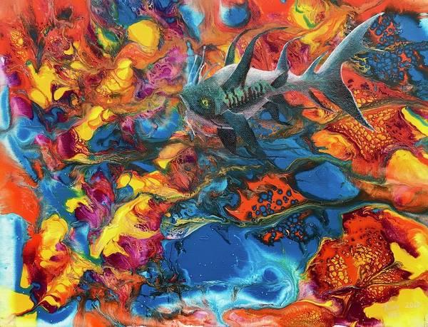 Painting - Alien Sea by Tony Rodriguez