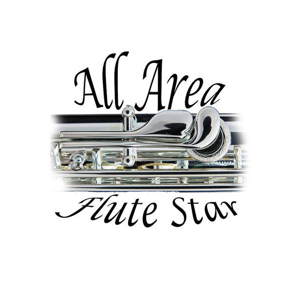 Photograph - All Area Flute Star  by M K Miller