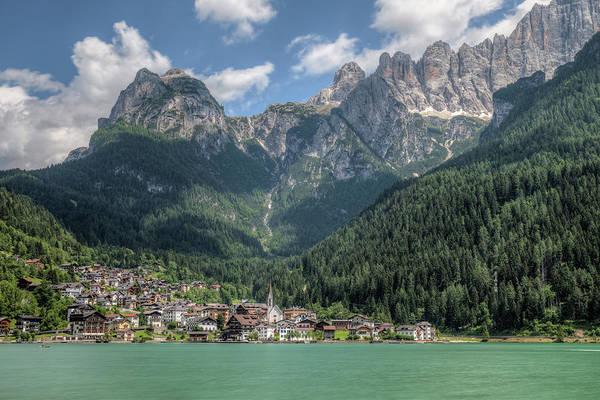 Dolomites Photograph - Alleghe - Dolomiti by Joana Kruse