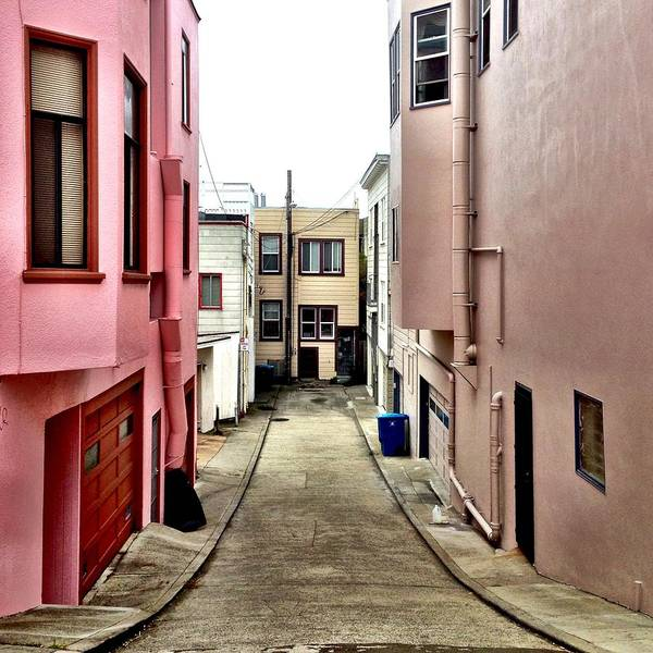 Wall Art - Photograph - Alley by Julie Gebhardt