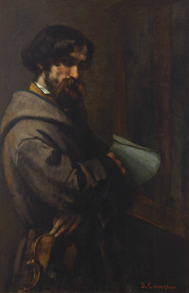 Painting - Alphonse Promayet by Gustave Courbet