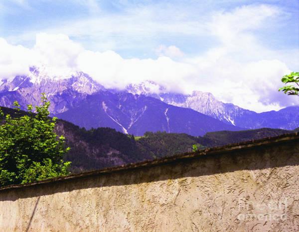 Photograph - Alpine Wall by John Bowers