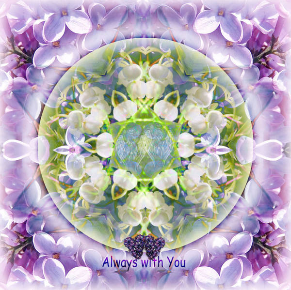 Mixed Media - Always With You-2 by Alicia Kent