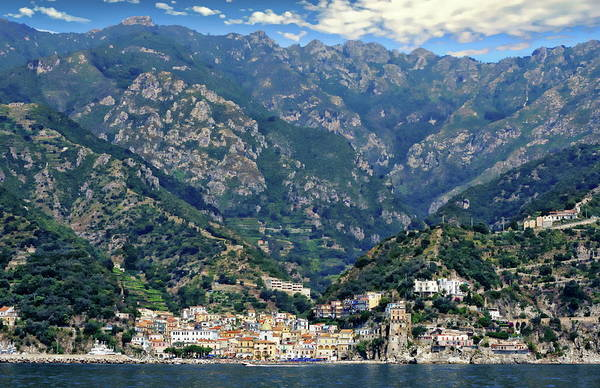 Photograph - Amalfi Coast by Anthony Dezenzio