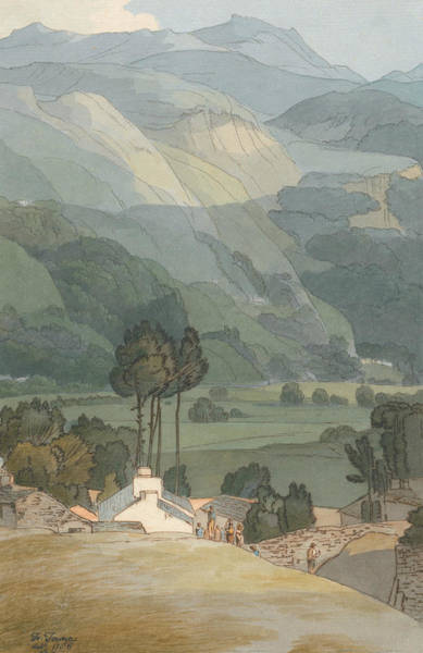 Painting - Ambleside by Francis Towne