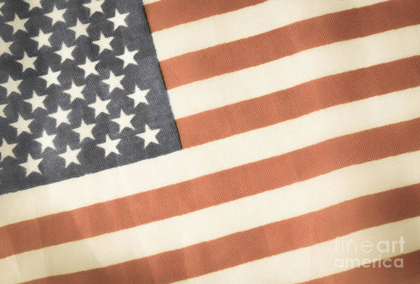 Photograph - American Flag by Andrea Anderegg