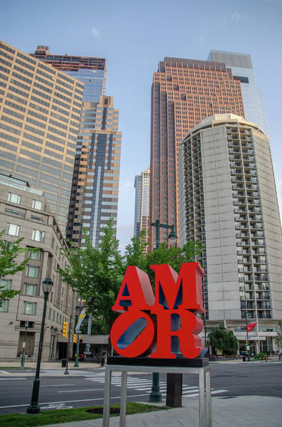 Photograph - Amor On The Parkway - Philadelphia by Bill Cannon