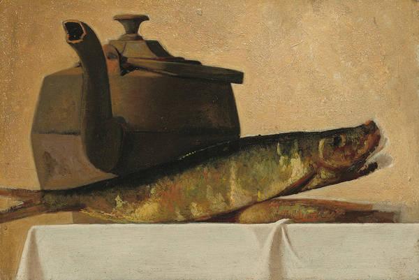 Wall Art - Painting - An English Breakfast by John Frederick Peto