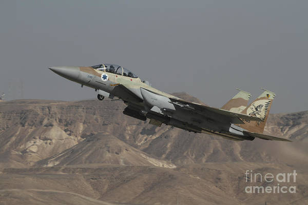 Airbase Photograph - An F-15i Raam Of The Israeli Air Force by Ofer Zidon