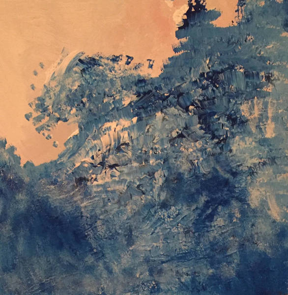 Blue Painting - An Ocean In Between The Waves by Mariana Hanna