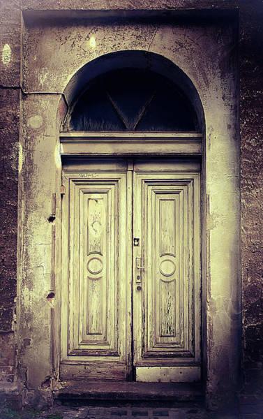 Derelict Wall Art - Photograph - An Old Door  by Tom Gowanlock