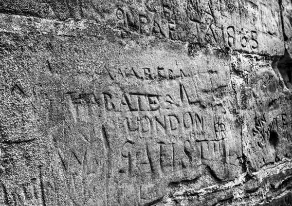 Ivanhoe Photograph - Ancient Graffiti by Nick Bywater