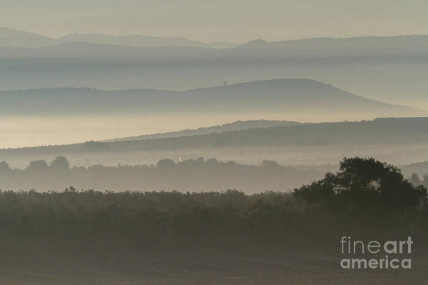 Photograph - Andalusian Hills In Fog by Heiko Koehrer-Wagner