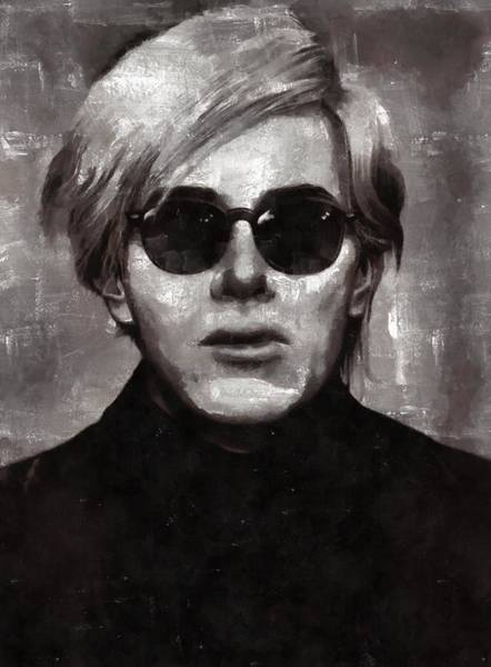 Andy Warhol Painting - Andy Warhol, Arist by Mary Bassett