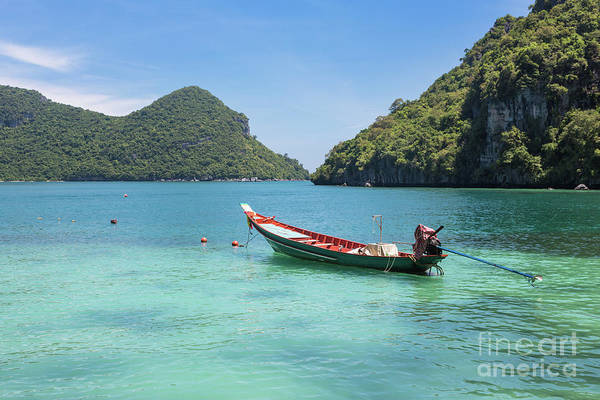 Photograph -  Ang Thong Marine Park In Thailand by Didier Marti